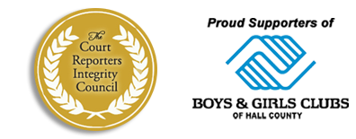 Court Reporters Integrity Council & boys & girls club of hall county